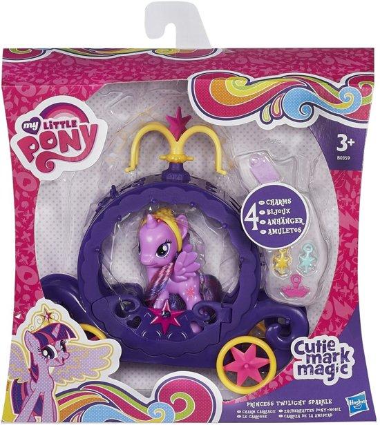 My Little Pony Twilight Sparkle's Kroonvoertuig - Speelset in Tasdijk