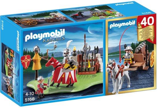 Playmobil Jubileum Compact Set Riddertoernooi met kanontransport - 5168 in Berghem