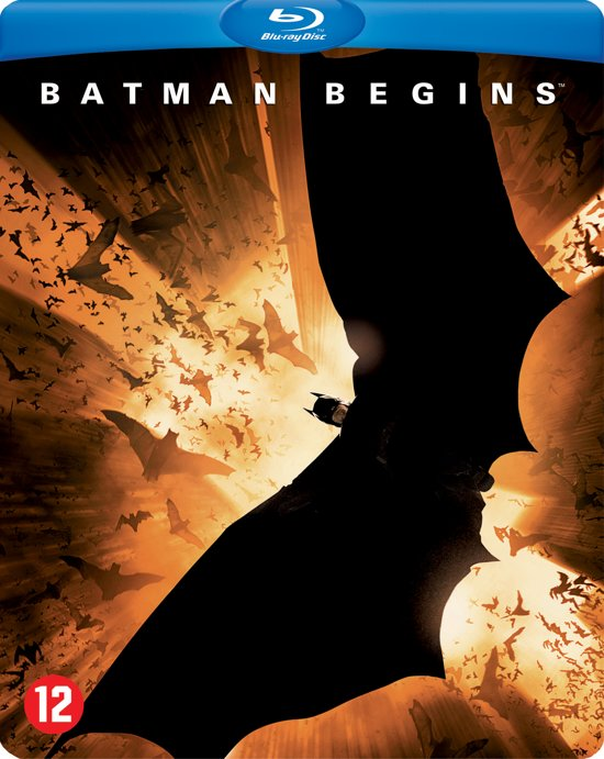 BATMAN BEGINS (STLBK) /S BD BI