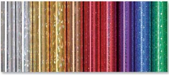Holografische metallic inpakfolie  Rood in Zuidbuurt