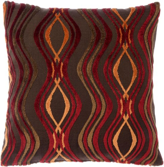 Sierkussen sierkussenhoes : ... : Dutch Decor Belvi Wave - Sierkussenhoes - Multi - 45x45 cm : Wonen