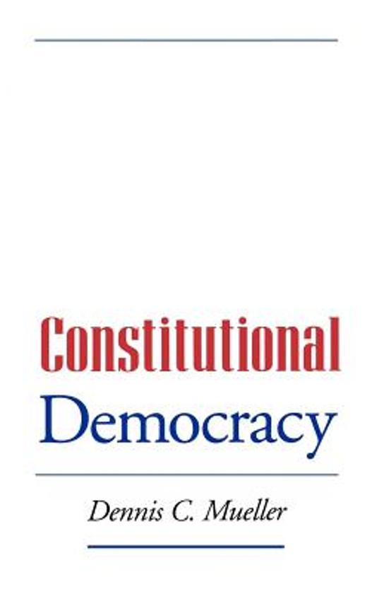 the relationship between constitutionalism and democratic governance essay 2001] legitimacy of constitutional democracy 1309 stake10 consistent with this, the rule of law has come to mean different things to various legal traditions, as evinced by the contrasts between.