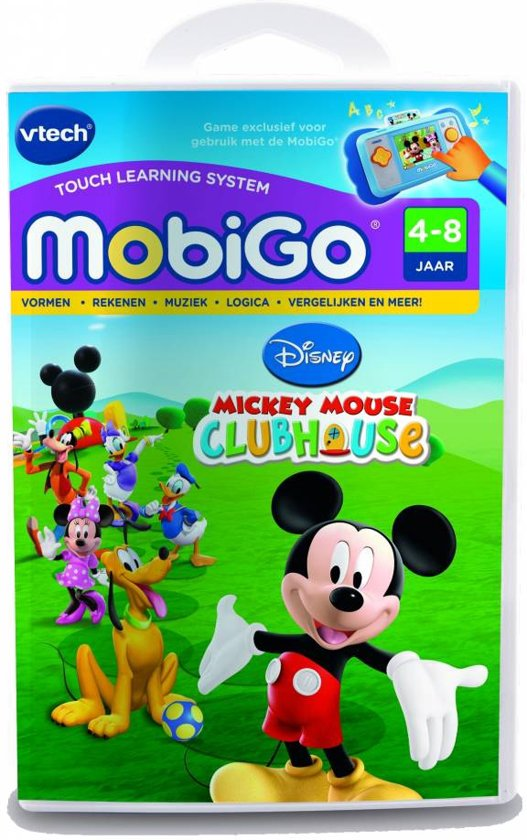 VTech MobiGo - Game - Mickey Mouse Clubhuis