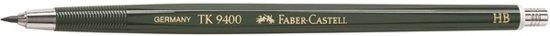 Faber-Castell 9400 vulpotlood, 2mm, HB in Schijf