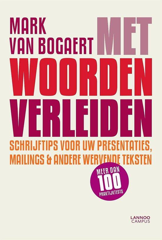 Engelse Keuken Woorden : bol.com Met woorden verleiden, Mark Van Bogaert 9789401410632
