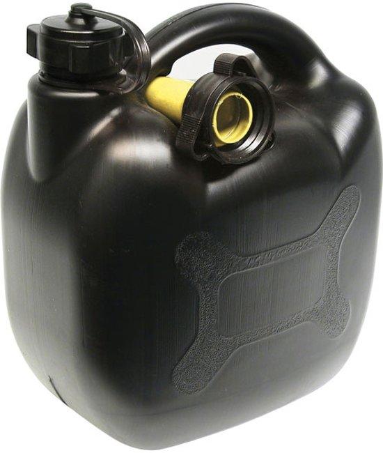 Benzinekan 5l zwart in Ensival