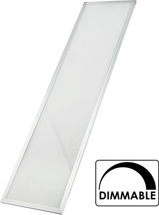 ecopanel led panel 120x30 naturel wit. Black Bedroom Furniture Sets. Home Design Ideas