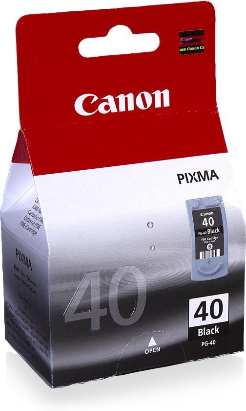 canon pg 40 inktcartridge zwart nieuws uit biddinghuizen. Black Bedroom Furniture Sets. Home Design Ideas