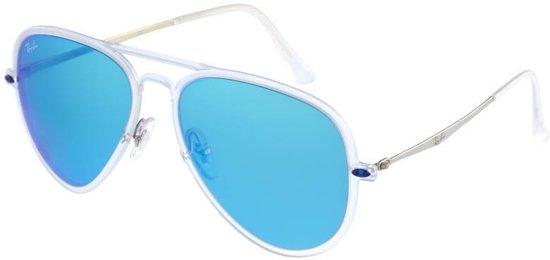 ray ban zonnebril met blauwe glazen
