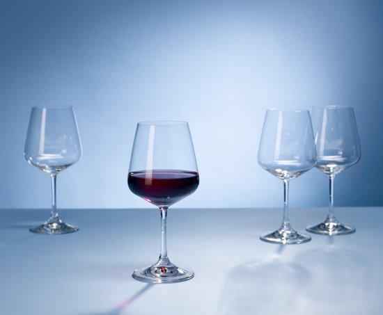 Rode Keukenapparaten : Villeroy & Boch Ovid Rode Wijnglazen per 4 stuks – kristalglas