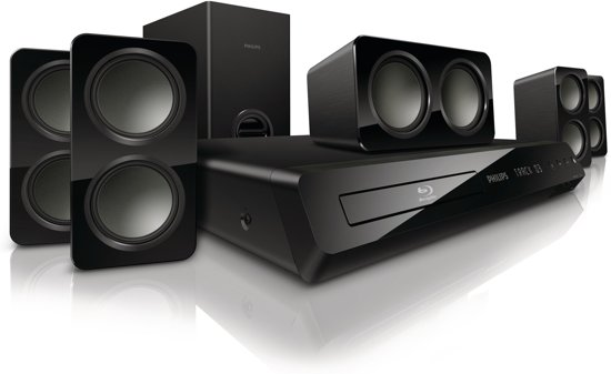 Philips HTS3541 - 5.1 Blu-Ray Home cinema set