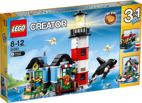 LEGO Creator Vuurtorenkaap - 31051 in Geertruidenberg