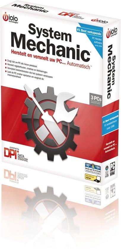 Iolo System Mechanic Pc Tune Up Tools versie 9 - 1 Jaar / 3 Pc's