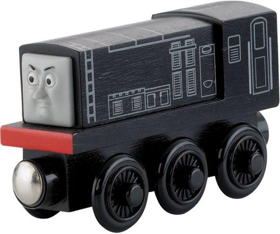 Fisher-Price - Thomas de Trein Houten Spoorbaan Diesel in Walsbets