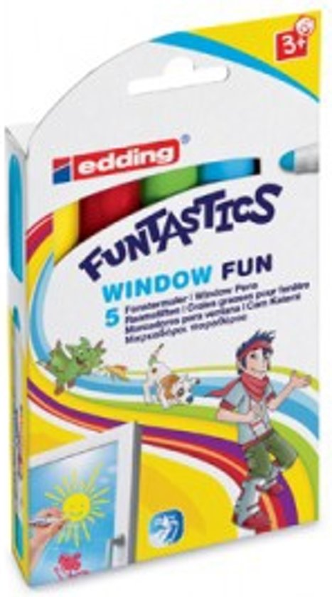 Funtastics Window Fun Marker 5Er Set in Voerendaal