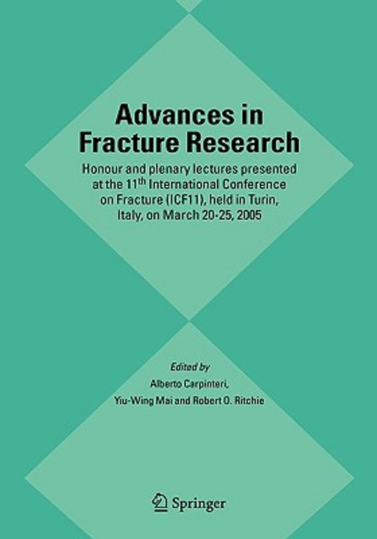 Advances in Fracture Research