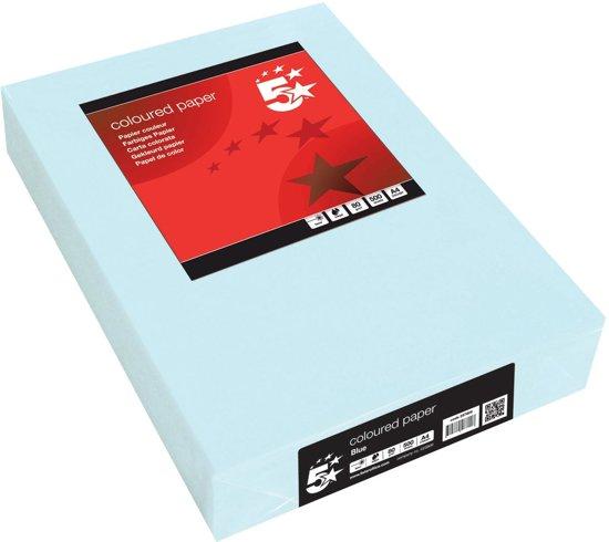 5Star printerpapier 5STAR COPY A4 BLAUW 80G 500V