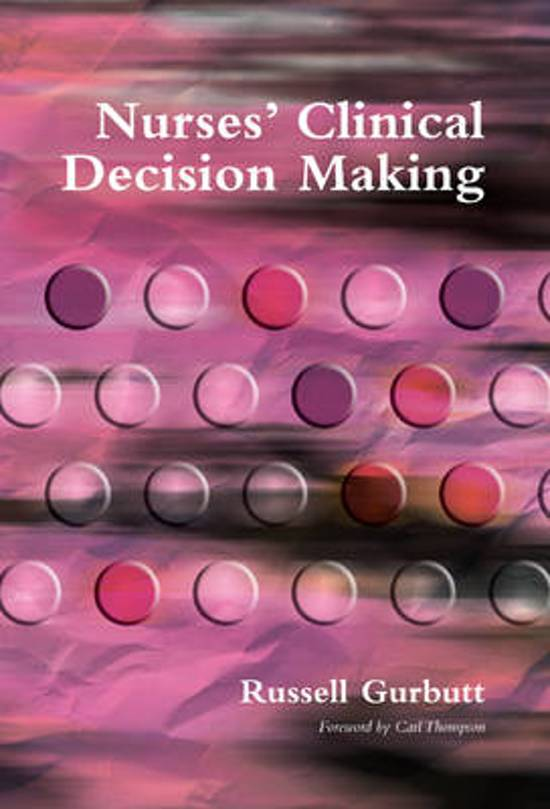 5wh nursing decision making Start studying clinical decision making learn vocabulary, terms, and more with flashcards, games, and other study tools.