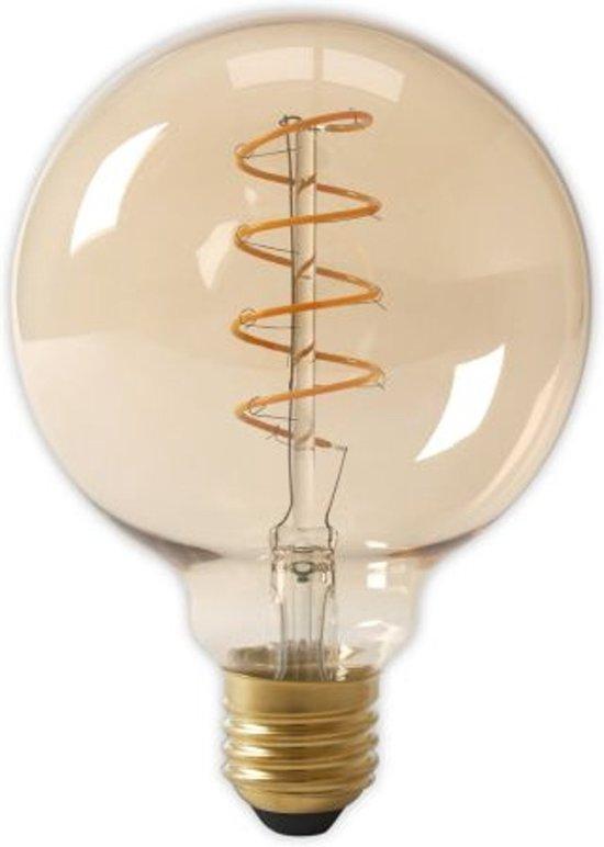 calex led filament globe lamp 4w e27 200lm gold dimbaar. Black Bedroom Furniture Sets. Home Design Ideas