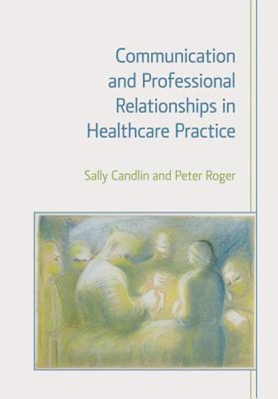 communication and professional relationships 4 essay Sage books - developing and maintaining trust in work relationships  have  open and honest communication in the workplace secure in the knowledge that   keep a professional workplace and helps set astandard for everyone to follow.