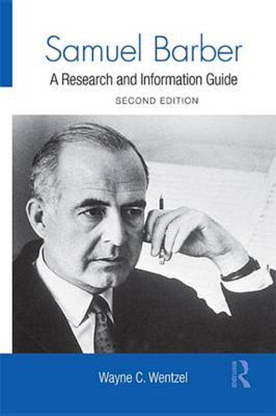 a biography of samuel barber This lesson is about samuel barber, the american composer who wrote, among many other pieces, the famous adagio for strings here you'll learn.