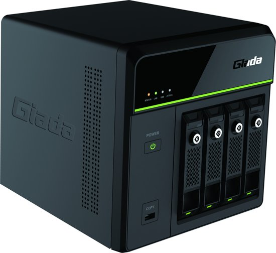 Giada GT400 Intel HM77 Zwart server barebone
