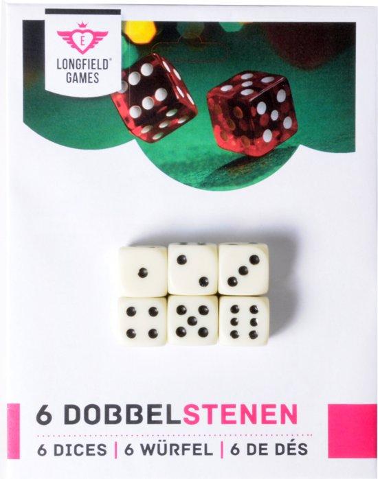 6 dobbelstenen 16 mm op kaart in Berlaar