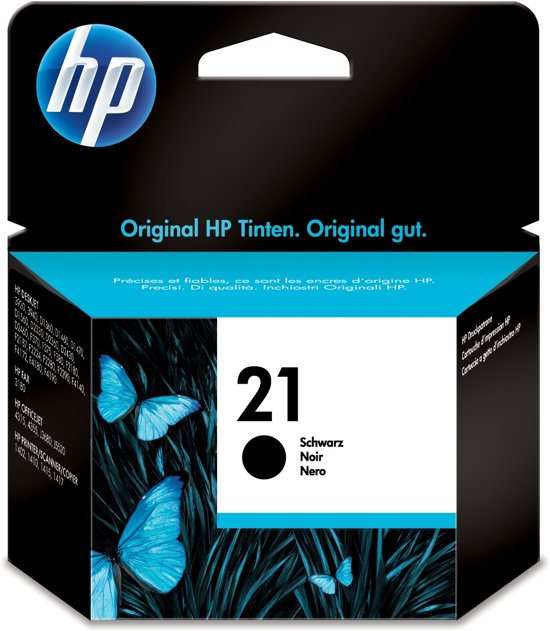 HP 21 - Inktcartridge / Zwart (C9351AE)