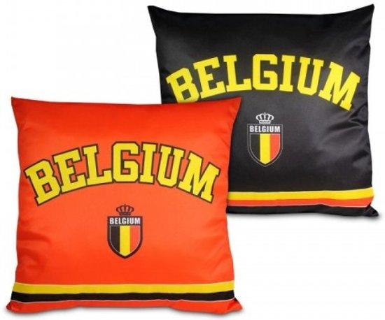 bolcom belgi235 sierkussen rode duivels rood zwart