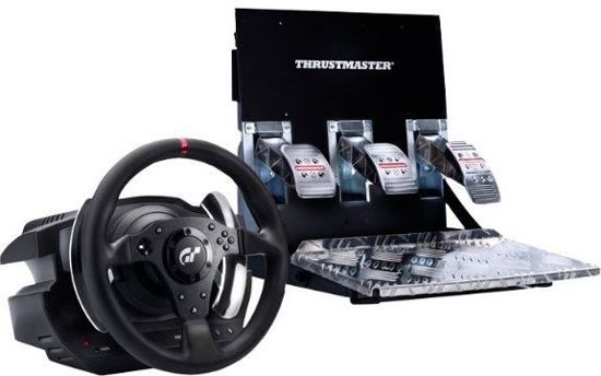 thrustmaster t500 rs racestuur pedalen zwart. Black Bedroom Furniture Sets. Home Design Ideas