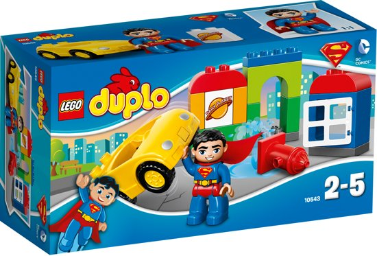 LEGO DUPLO Superman Reddingsactie - 10543 in Kraloo