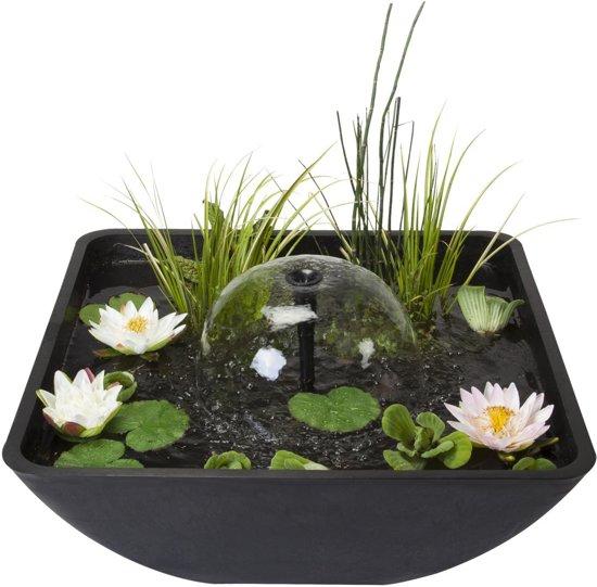 Velda fountain pond 75 x 75 x 35 cm tuin for Vijverbak groot