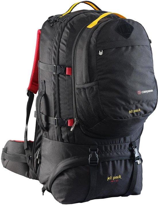 Caribee Jet Pack - Backpack - 75 Liter - Zwart in Zelhemse Broek