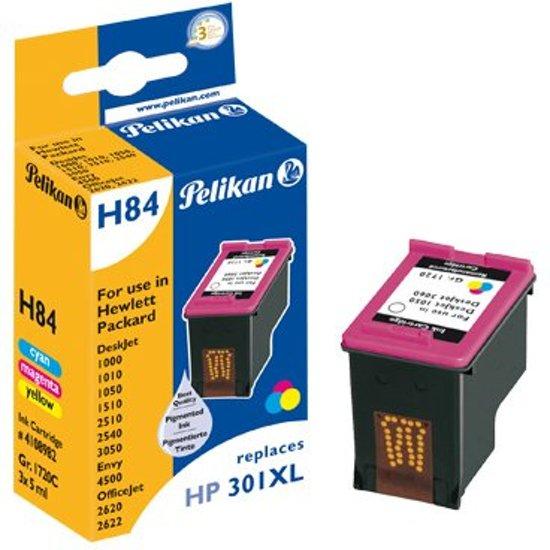 Pelikan E64T129 - Inktcartridge / Cyaan / Magenta / Geel / Zwart