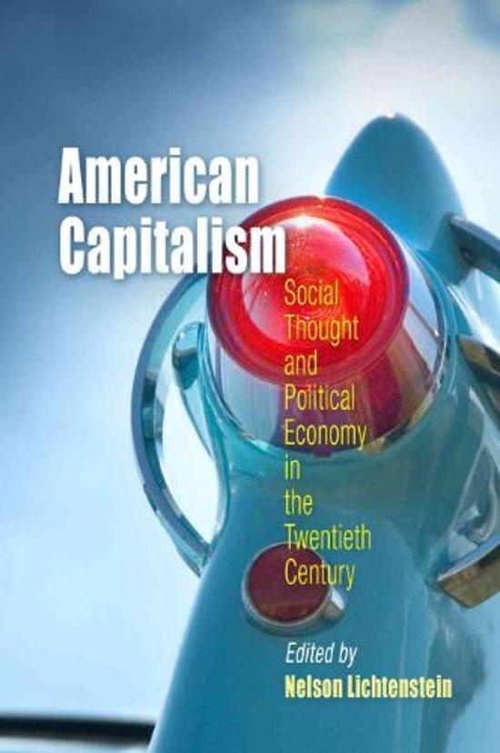 american capitalism essay