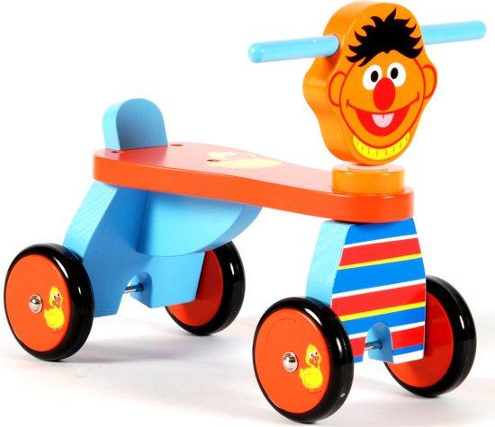 Sesamstraat Houten Loopfiets Ernie
