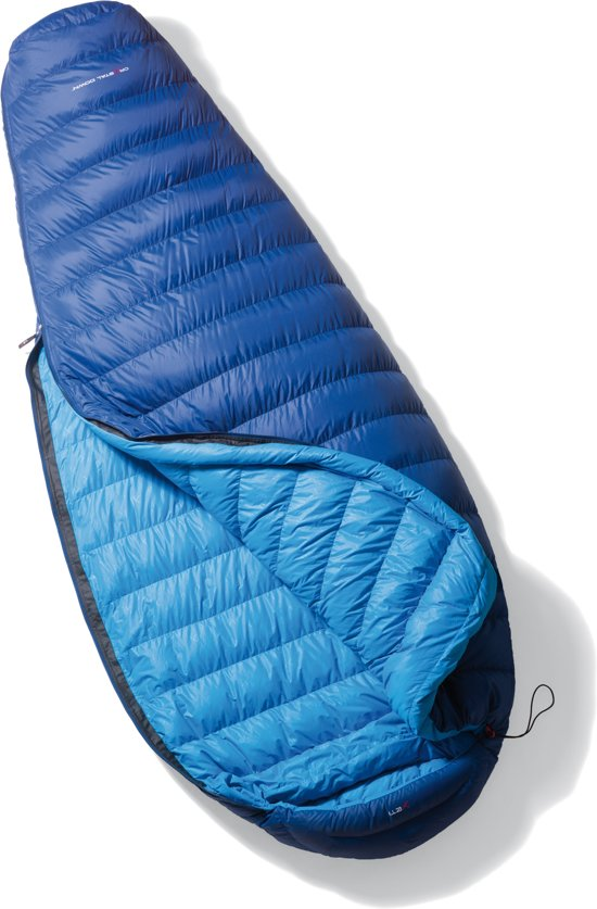 Yeti Tension Comfort 800 - Mummy Slaapzak - XL - Rits Links - Blauw in De Ratte