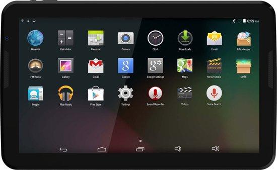 Denver TIQ-11003 - Tablet - 10.6 inch - Zwart
