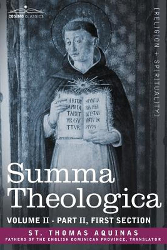 "review the summa theologica by thomas The theology of thomas aquinas:  philosophical passages of st thomas aquinas' summa theologica  in roman catholic theology,"" harvard theological review."