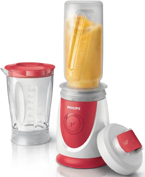 bolcom philips daily hr287200 mini blender onthego