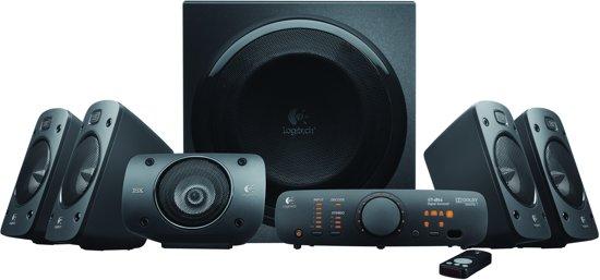 Logitech Z906 - 5.1 Surround Sound Speakerset