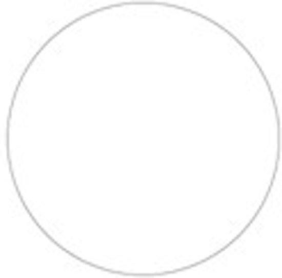 Glasheldere sluitzegel Rond 30 mm