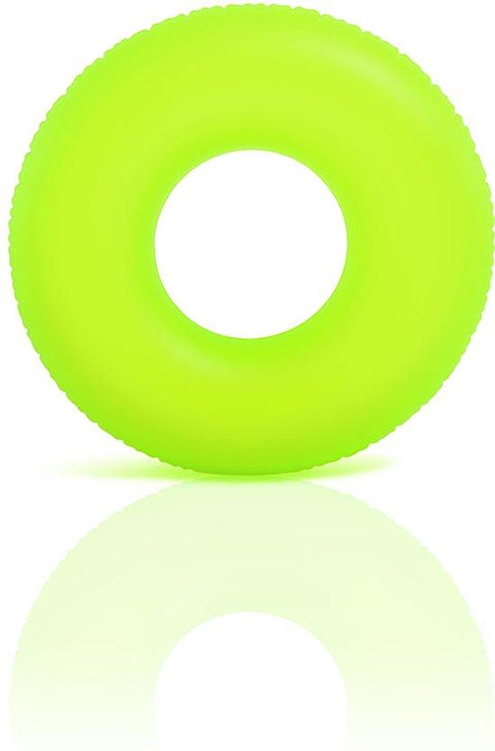Intex Neon frost zwemring 91 cm geel in Zenderen