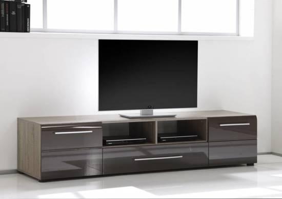 Dorpel Voor Badkamer ~ bol com  TV meubel bruin hoogglans Eve Trend  Wonen