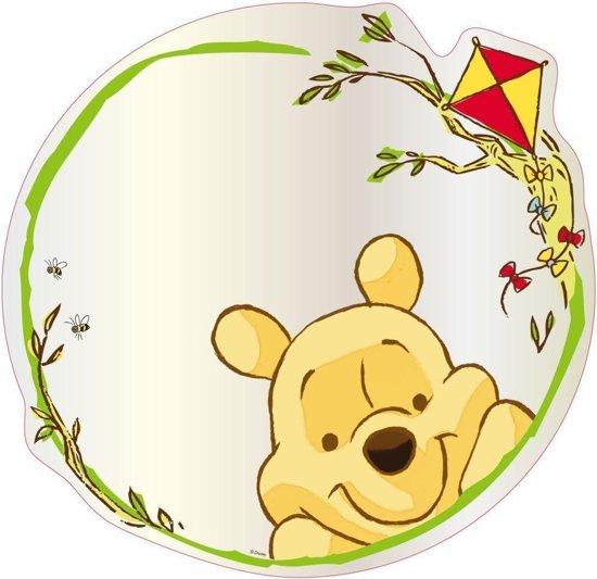 Winnie the pooh spiegel plexiglas 30x30 cm for Spiegel 30x30