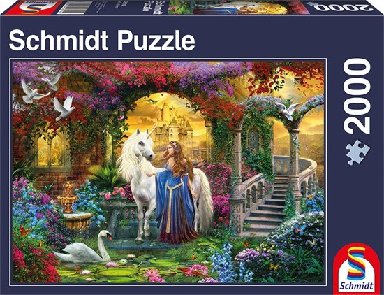 In the Fairy Garden - Legpuzzel - 2000 Stukjes in Varsenare