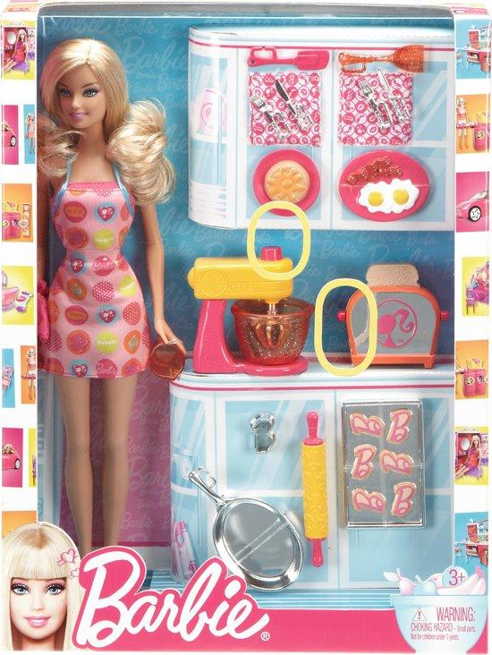 Keuken Accessoires Speelgoed : bol.com Barbie Keuken Accessoires Set,Mattel Speelgoed