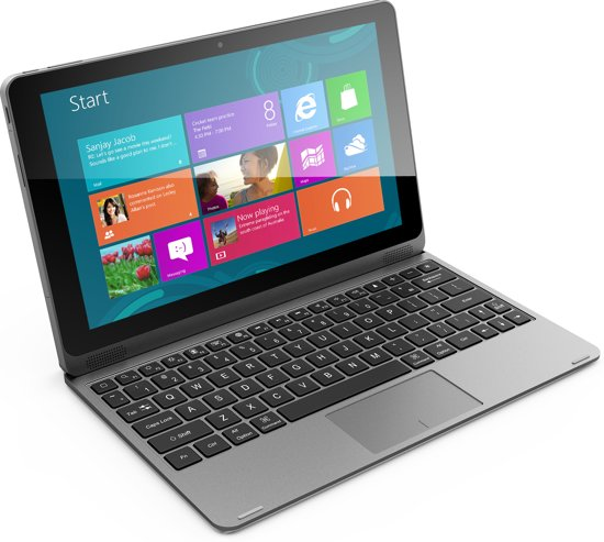 Empire Intel Baytrail CR3735F - Tablet - 10.1 Inch - Zwart