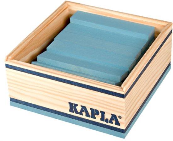 KAPLA Kleur - 40 Plankjes - Lichtblauw in Spijk