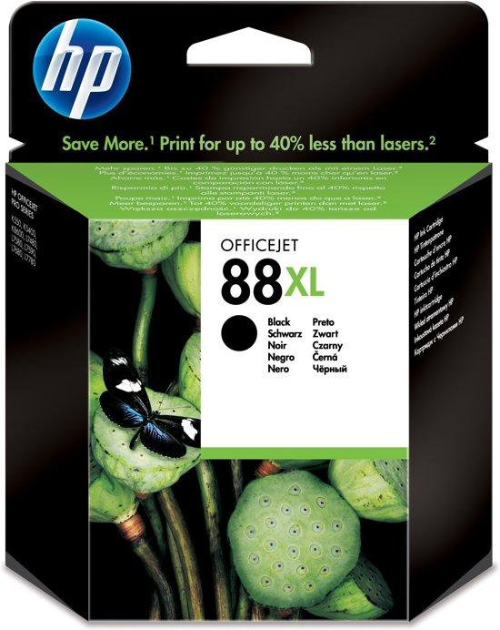 HP 88XL - Inktcartridge / Zwart (C9396AE)